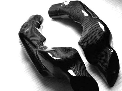 Suzuki Carbon Fiber GSX R1000 Air Ducts 2003 2004  - MDI CarbonFiber - 1