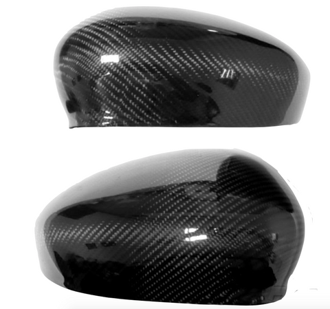Fiat 500 Abarth Carbon Fiber Mirror Covers  - MDI CarbonFiber - 1