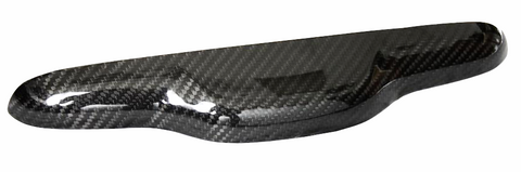 Fiat 500 Abarth Carbon Fiber Lift Gate Handle Cover  - MDI CarbonFiber - 1