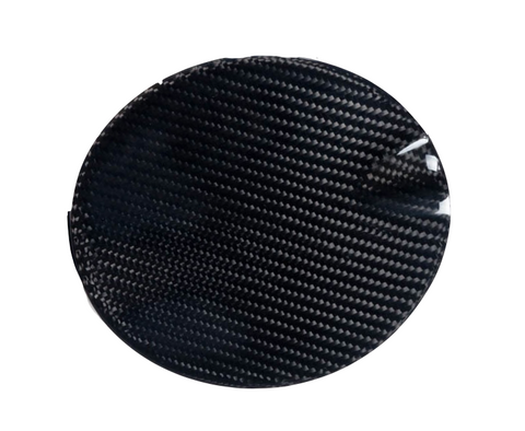 Fiat 500 Abarth Carbon Fiber Fuel Cap Cover  - MDI CarbonFiber - 1