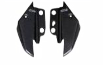 Aprilia Shiver 2007-2009 Small Side Panels With Internal lugs & Foam Carbon Fiber  - OYA Carbon, MDI CarbonFiber