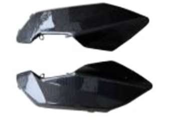 Aprilia Shiver 2007-2009 Side Panels Under The Tank With Internal Lugs Carbon Fiber  - OYA Carbon, MDI CarbonFiber