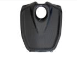 Aprilia Shiver 2007-2009 Key Cover With Internal Lugs Carbon Fiber  - OYA Carbon, MDI CarbonFiber