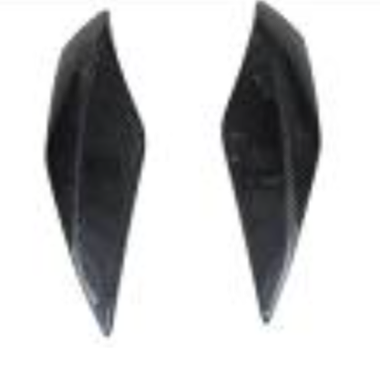 Aprilia Mana 850 2009-2010 Side Panels With Internal lugs Carbon Fiber  - OYA Carbon, MDI CarbonFiber