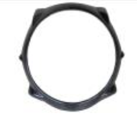 Aprilia Mana 850 2009-2010 Lamp Ring with internal lugs Carbon Fiber  - OYA Carbon, MDI CarbonFiber