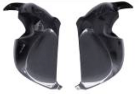 BMW R1200S Side Fairings Carbon Fiber  - OYA Carbon, MDI CarbonFiber