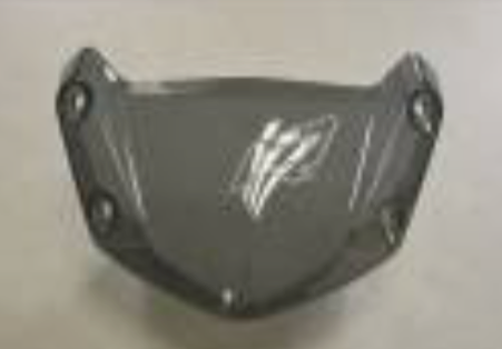 BMW R1200R 2015 Wind Screen Carbon Fiber  - OYA Carbon, MDI CarbonFiber