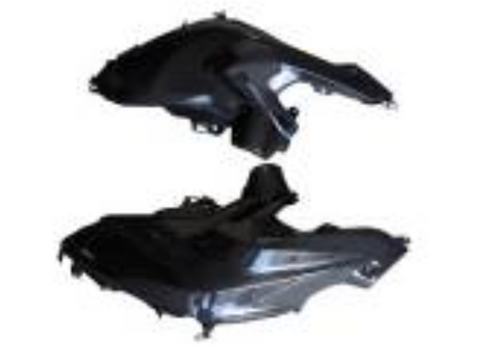 BMW R1200GS 2013 Tank Side Parts Carbon Fiber  - OYA Carbon, MDI CarbonFiber
