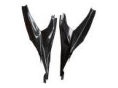 Ducati 899 2014 Carbon Fiber Side Fairings  - OYA Carbon, MDI CarbonFiber