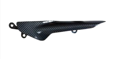 Ducati Monster 1200S 2014 Carbon Fiber Chain Guard  - OYA Carbon, MDI CarbonFiber