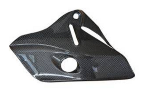 Ducati Monster 1200S 2014 Carbon Fiber Heat Shield  - OYA Carbon, MDI CarbonFiber