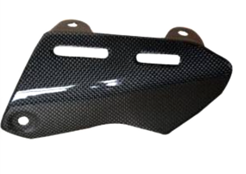 Ducati Monster 1200S 2014 Carbon Fiber Exhaust Cover  - OYA Carbon, MDI CarbonFiber