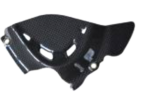 Ducati Monster 1200S 2014 Carbon Fiber Sprocket Cover  - OYA Carbon, MDI CarbonFiber