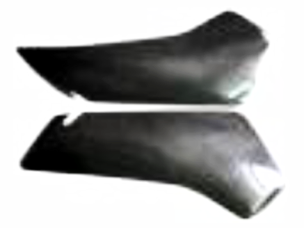 Ducati Carbon Fiber 749 999 Fairing Air Scoops  - MDI CarbonFiber