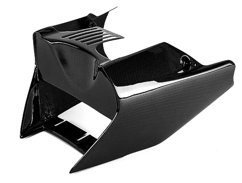 KTM Carbon Fiber 990 Super Duke Belly Pan Fits 2007 2011  - MDI CarbonFiber - 1