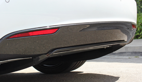 Tesla Model S Carbon Fiber Rear Lower Bumper  - MDI CarbonFiber - 1