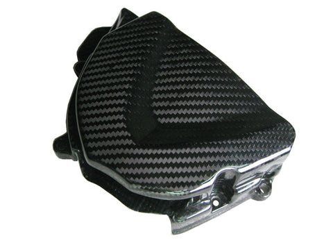 Triumph Carbon Fiber Daytona 675 2006 2010 Sprocket Cover  - MDI CarbonFiber - 1