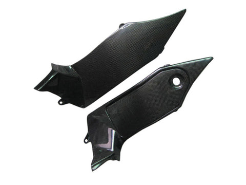 Triumph Carbon Fiber Sprint ST 1050 Inner Side Fairing Dash Fits 2005 2009  - MDI CarbonFiber - 1