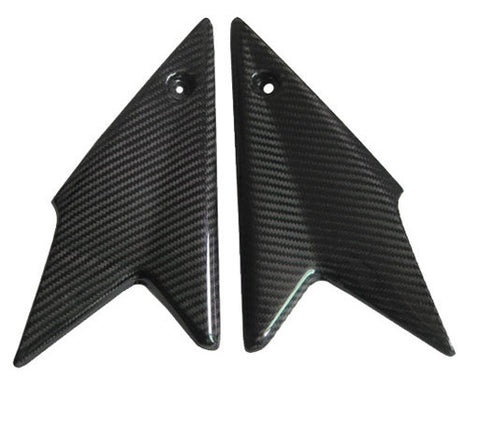 Triumph Carbon Fiber Street Triple 1050 Side Covers Fits 2008 2010  - MDI CarbonFiber - 1
