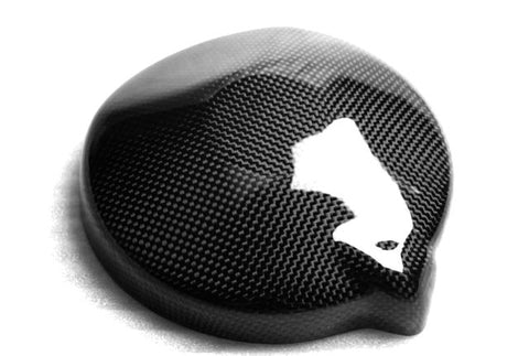 Triumph Carbon Fiber Street Triple Alternator Cover Fits 2007 2010  - MDI CarbonFiber - 1