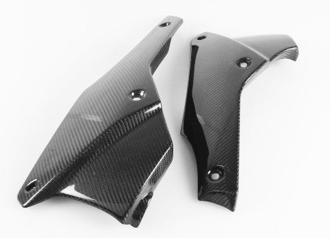 Triumph Carbon Fiber speed triple 1050 2011 2013 Belly Pan  - MDI CarbonFiber
