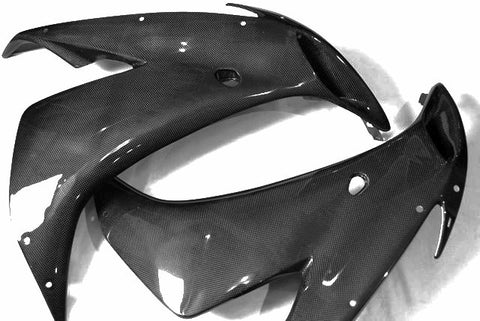 Yamaha Carbon Fiber R1 Mid Side Set 2004 2006  - MDI CarbonFiber - 1