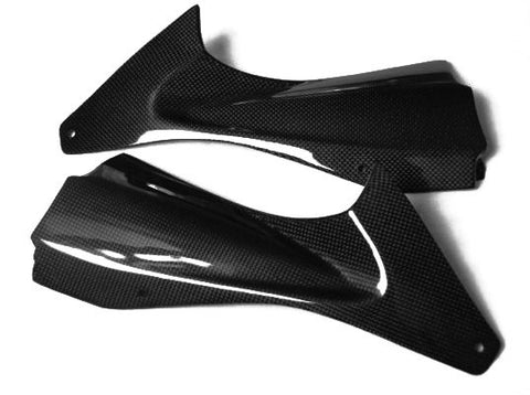 Yamaha Carbon Fiber R6 Airducts Cover Vents 2006 2007  - MDI CarbonFiber - 1