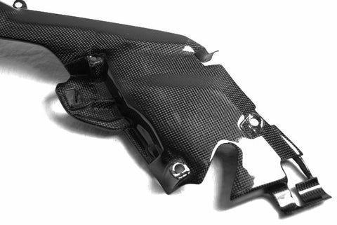 Yamaha Carbon Fiber R1 Upper Heat Shield 2007 2008  - MDI CarbonFiber - 1