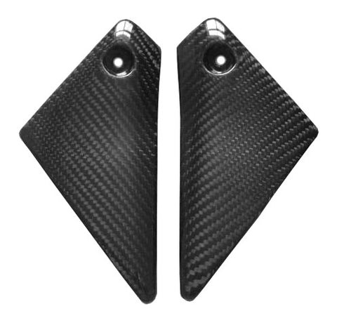 Yamaha Carbon Fiber FZ1 06 09 Upper Side Panels  - MDI CarbonFiber