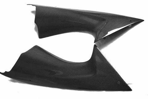Yamaha Carbon Fiber R6 Ram Air Covers 2008 2013  - MDI CarbonFiber - 1