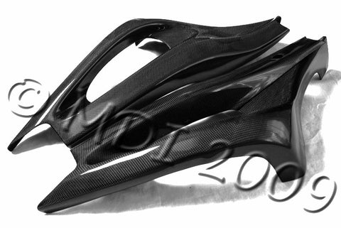 Yamaha Carbon Fiber R6 Swingarm Covers 2003 2005  - MDI CarbonFiber - 1