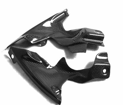 Yamaha Carbon Fiber R1 Ram Air Covers 2007 2008  - MDI CarbonFiber - 1