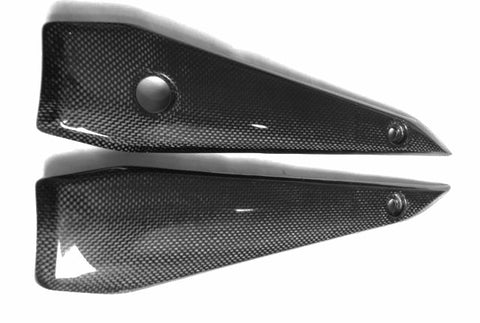 Yamaha Carbon Fiber FZ1 Fazer Naked Version Tank Side Covers 2006 2009  - MDI CarbonFiber - 1