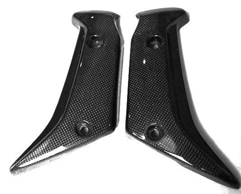 Yamaha Carbon Fiber FZ1 Fazer Fairingng Version Radiator Covers 2006 2009  - MDI CarbonFiber - 1
