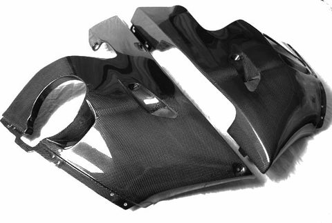 Yamaha Carbon Fiber R6 Lower Side Fairing 1999 2002  - MDI CarbonFiber - 1