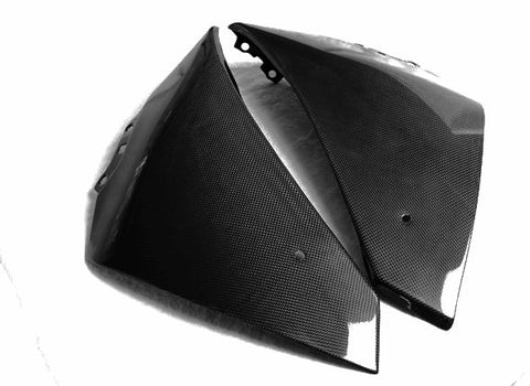 Yamaha Carbon Fiber Side Panels 2009 2013  - MDI CarbonFiber - 1