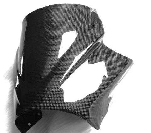 Yamaha Carbon Fiber MT 01 Windshield 2006 2012  - MDI CarbonFiber - 1