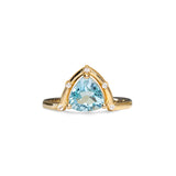LIMITED EDITION | Orbit Ring | Gold & Blue Topaz