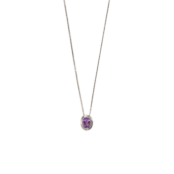 Estelle Necklace | Amethyst