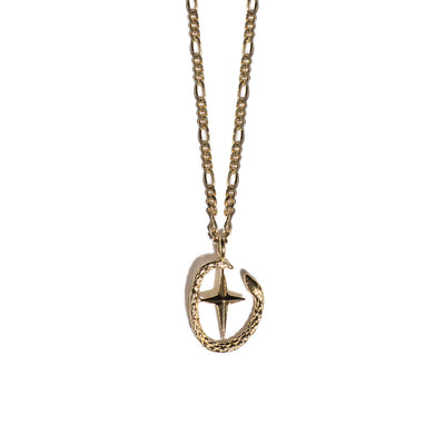 Aspida Tis Athinas | Shield Of Athena Necklace | Gold
