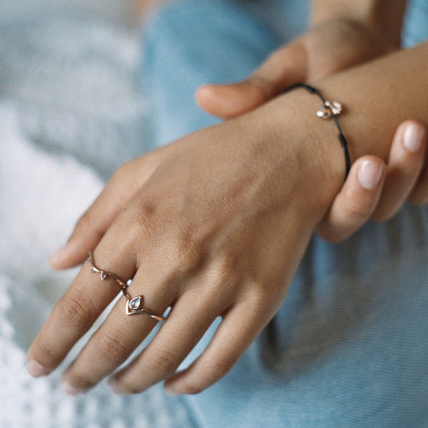 Asteria Ring | Rose Gold