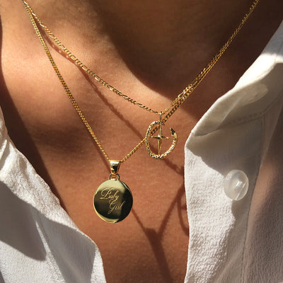 Baby Girl Necklace | Gold