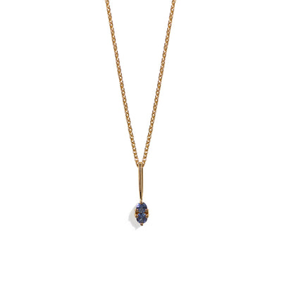 The Sapphire Charmer Necklace