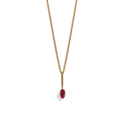 The Ruby Charmer Necklace