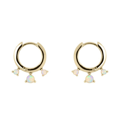 Dreamer Mini Hoops - Gold