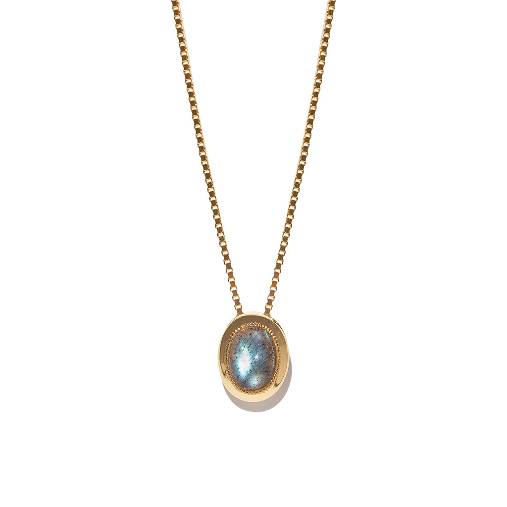 Estelle Necklace | Labradorite