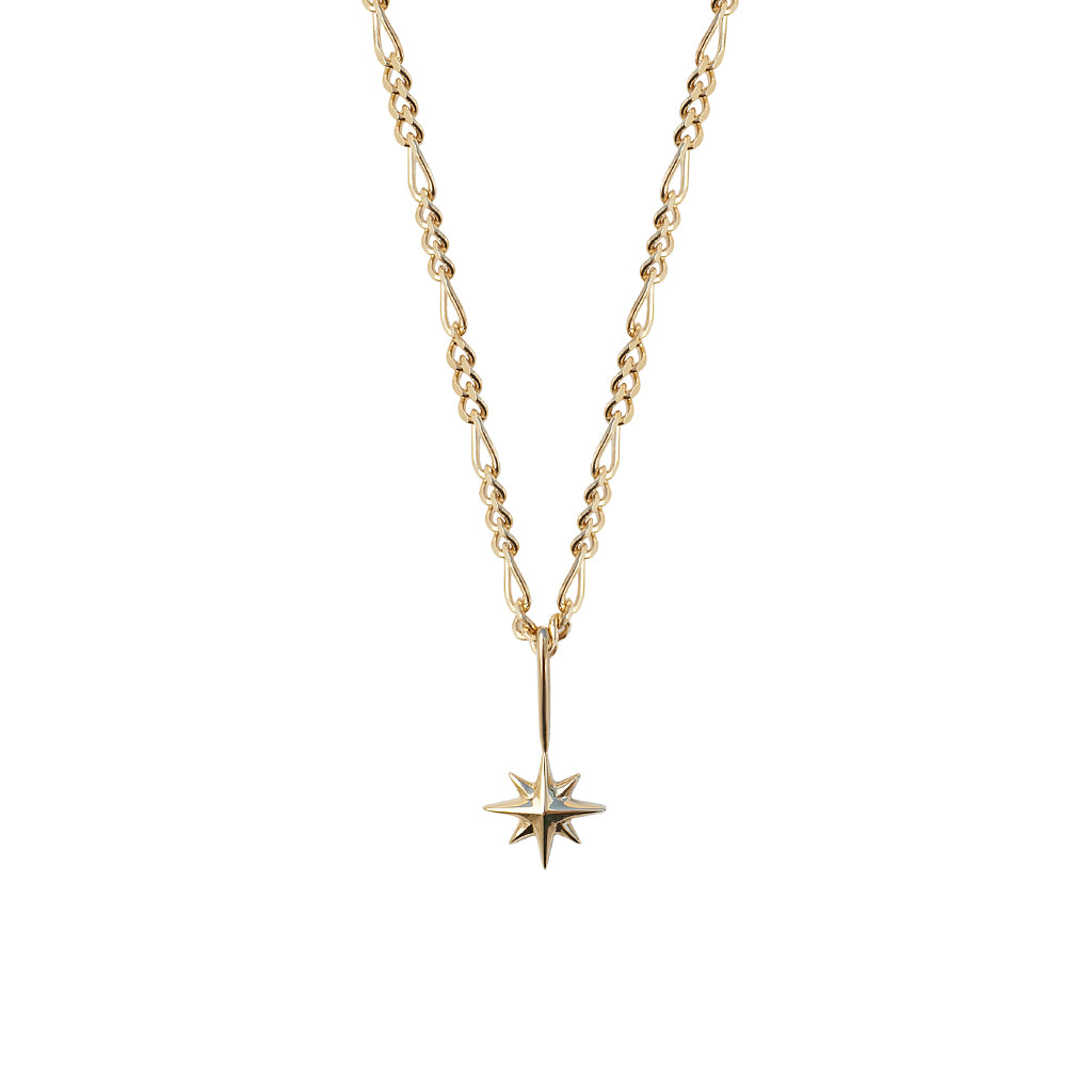Guiding Star Pendant | Solid Gold