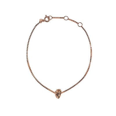 I Carry Your Heart Bracelet - Rose Gold
