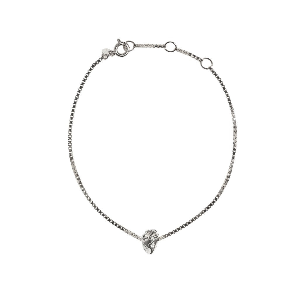 I Carry Your Heart Bracelet - Silver