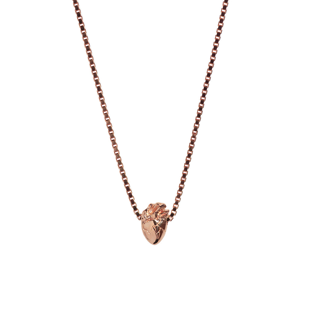 I Carry Your Heart Necklace | Rose Gold Plate